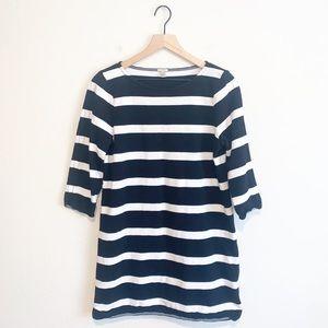 J.Crew Women's Stripped Mini Shirt Dress